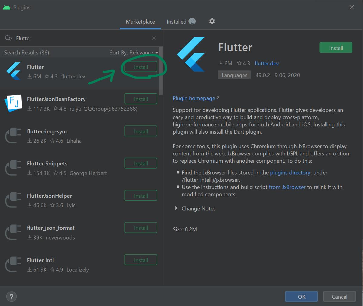 fultter_install45